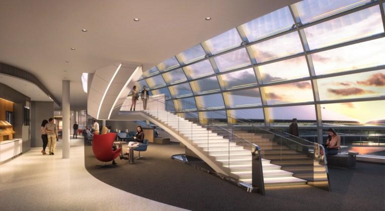 Nieuwe Air France Lounge op de luchthaven van Paris-Charles de Gaulle Terminal 2F (Bron: Air France)