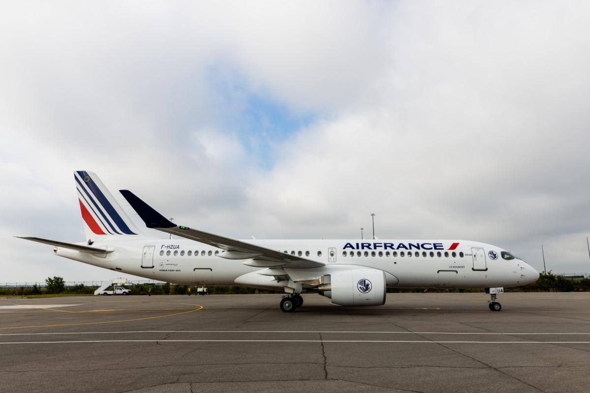 Zien de nieuwe A220 van Air France straks ook in Amsterdam? (Bron: Air France)