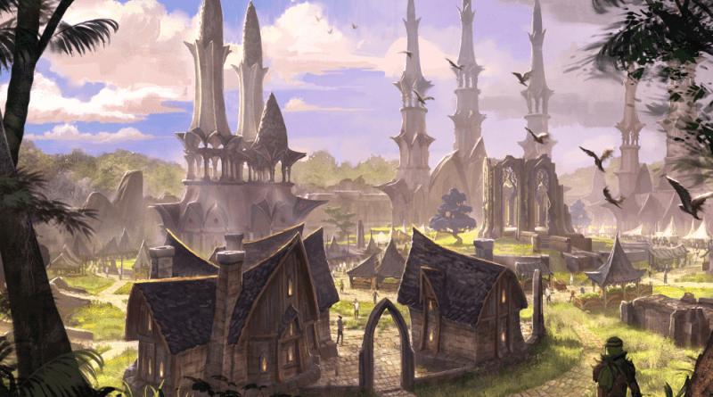 Elder Scrolls Online Artwork