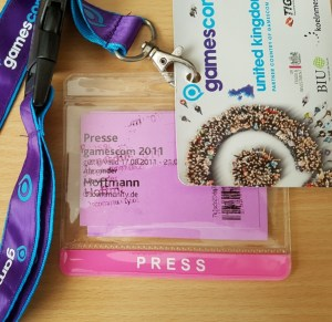 gamescom Presse Badge
