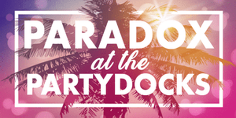 Paradox Interactive Beach Party Logo