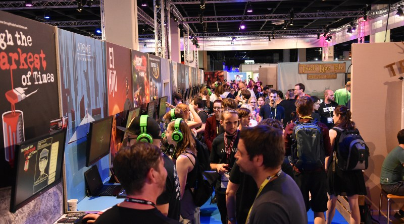 Indie Arena Booth, gamescom 2018. Quelle: https://indiearenabooth.de/gamescom2019/presskit