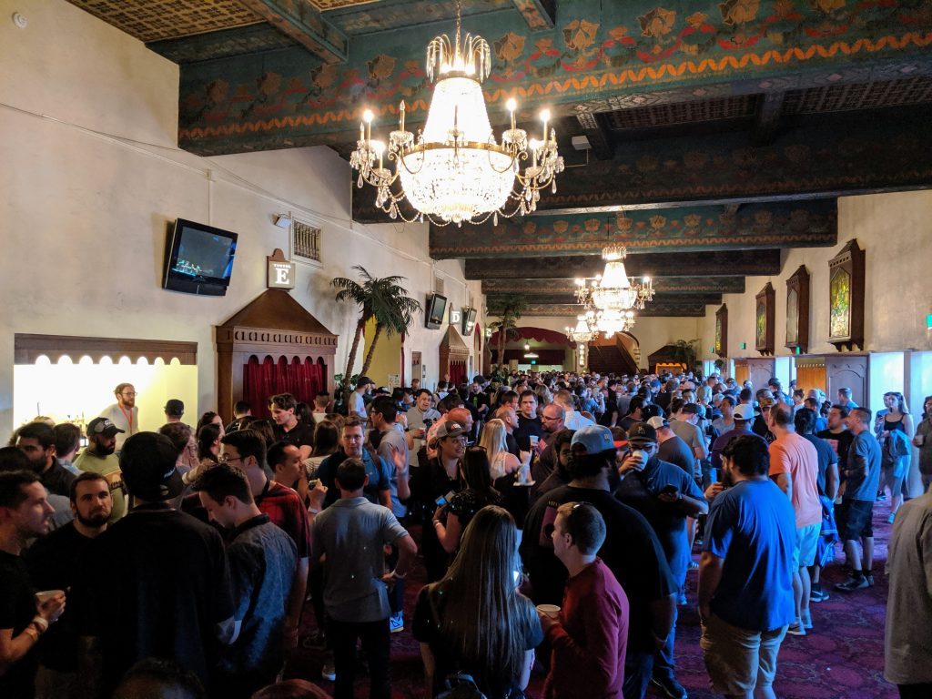 Lobby im Shrine Auditorium