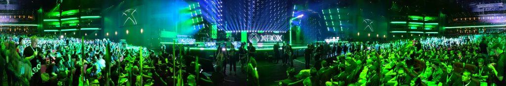 Panorama Ansicht im Microsoft Theatre