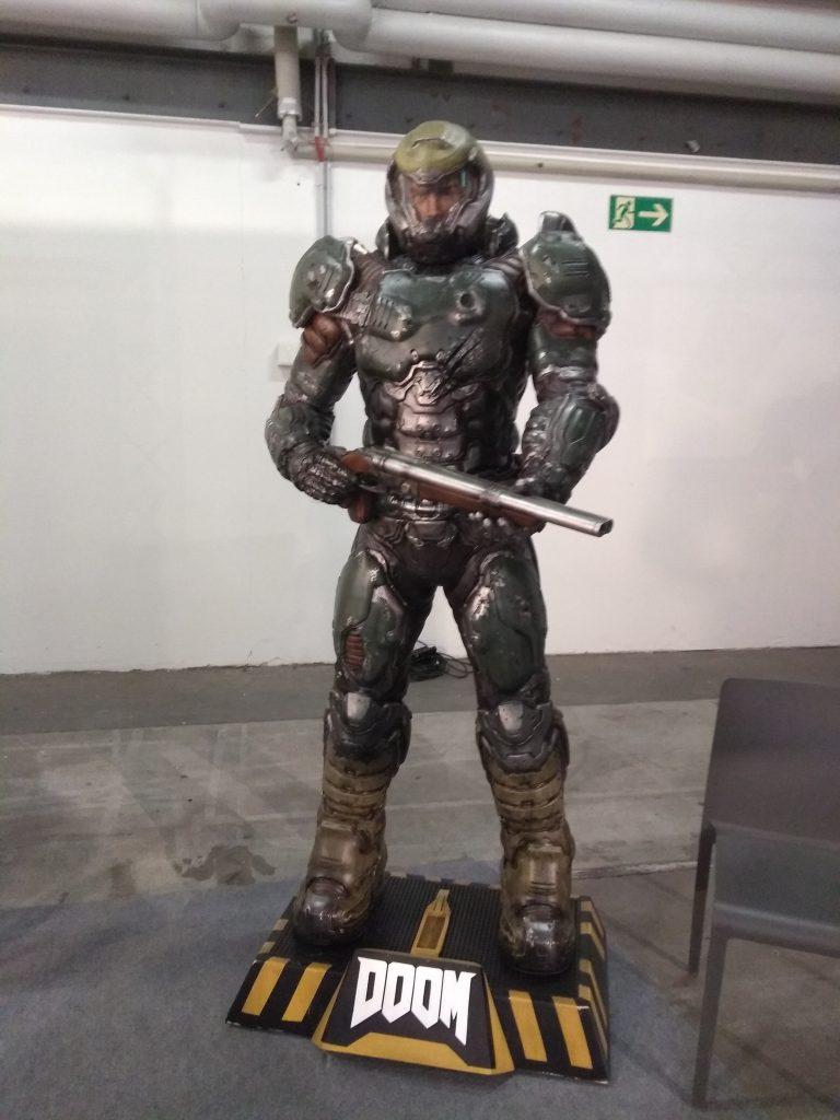 Doom Guy Statue