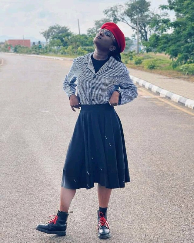 Facebook Users reacts to Deborah Enenche's dress styles