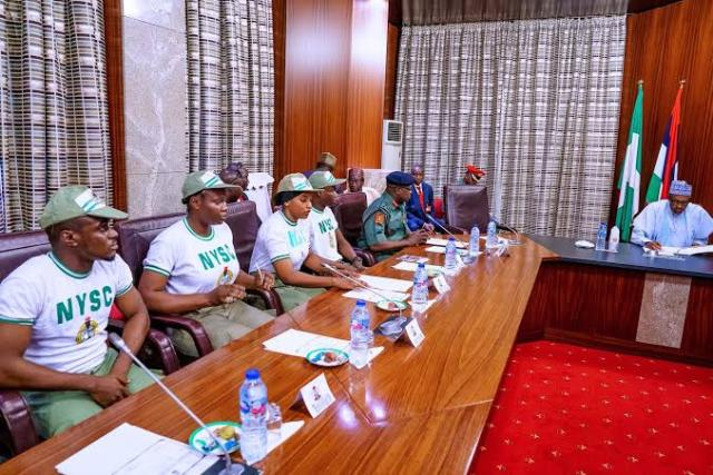 Buhari launches post-NYSC job scheme to employ 20,000 graduates yearly