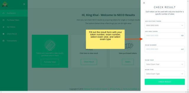 How To Check NECO Result