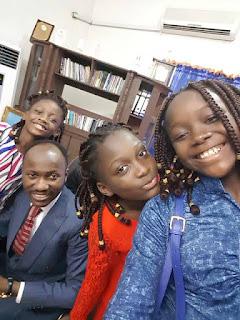 Apostle Johnson Suleman Children