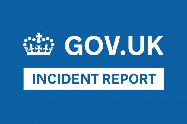 incident reports inside gov