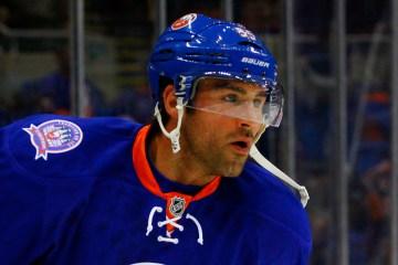 NY Islanders Defenseman Johnny Boychuck. (Brandon Titus/Inside Hockey)