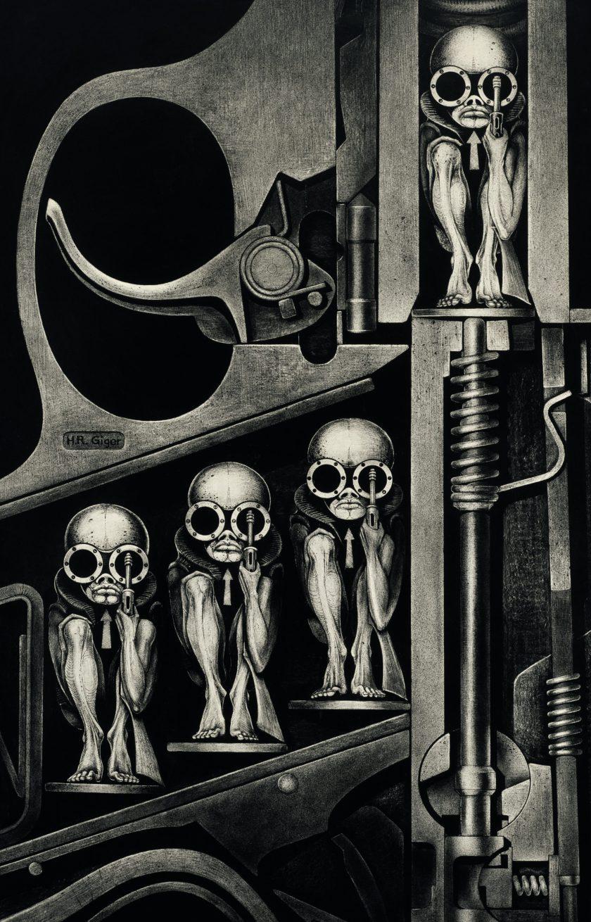H. R. Giger : giger, Exploring, Giger,, Inspiration, Behind, 'Alien', Franchise, InsideHook