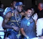 LeBron James, Dwyane Wade, & The Miami Heat celebrate NBA Championship at STORY Night Club