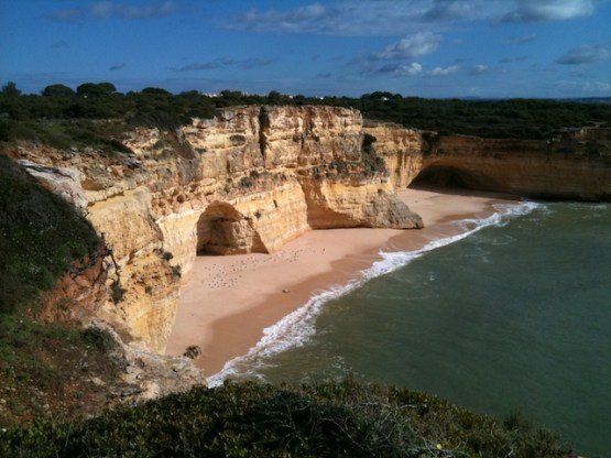 Along-the-cliff-tops-Marinha-beach