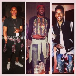 russell-westbrook-kevin-durant-nick-young-tie-shirt-around-the-waist-trend