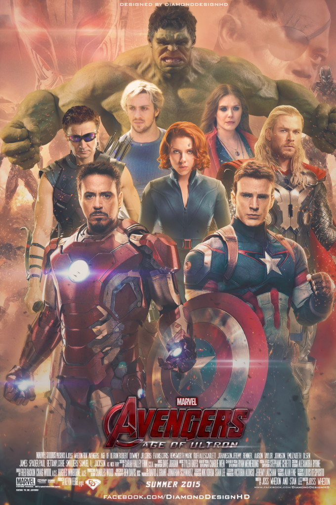Avengers-Age-Of-Ultron-FAN-MADE-Poster-marvel-comics-37350450-1200-1800