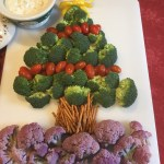 Christmas Tree Crudites A Simple Holiday Twist To Dazzle Your Guests Inside Kel S Kitchen