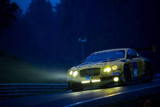 Bentley Continental GT3 at the 2016 Nurburgring 24 Hours