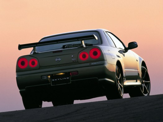 Nissan Skyline GTR M-Spec Nur Rear