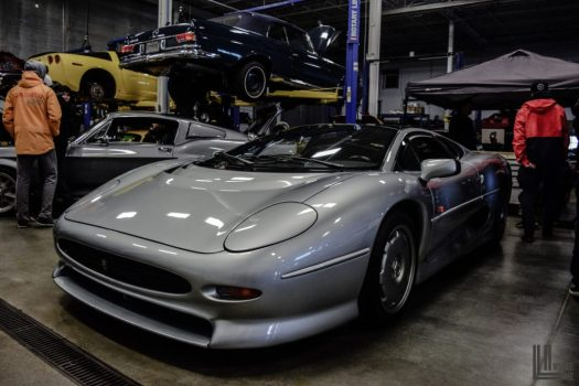 Jaguar XJ220 at EA Cars and Coffee Toronto May 2017