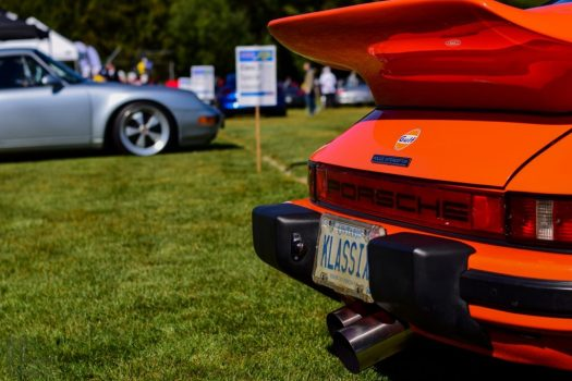 Porsche 934 Tribute Rear Exhaust