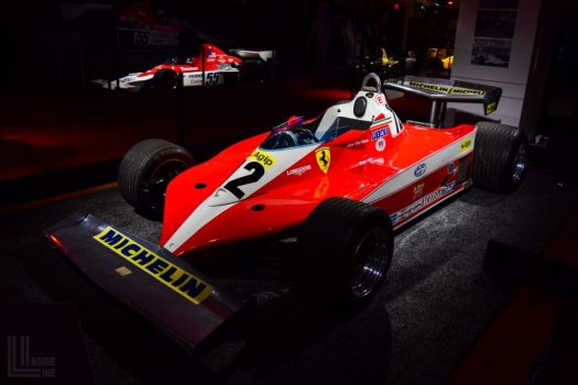 This 1978 Ferrari 312T3 F1 racecar was serviced at Engineered Automotive - the same car driven by the legendary Gilles Villeneuve!