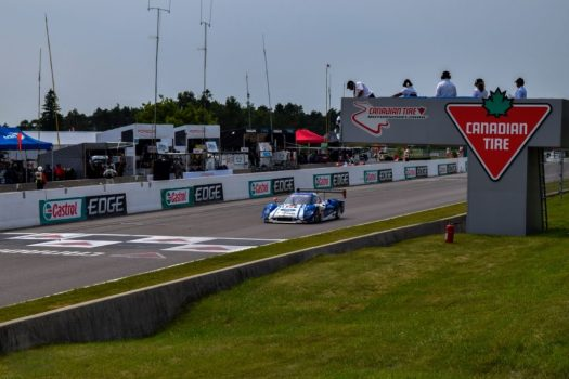 Ford Daytona Prototype Racecar, powered by the same twin-turbo 3.5L V6 Ecoboost as the Ford GT.