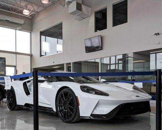 One of the first Canadian deliveries of the Ford GT in 2018.
