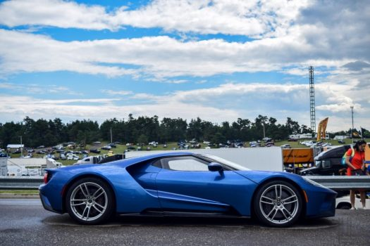 The new Ford GT has 5 selectable drive modes: Normal, Wet, Sport, Track and V-Max.