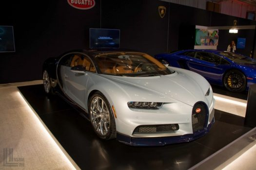 Bugatti Chiron at the 2018 Canadian International Auto Show in Toronto