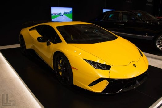 Lamborghini Huracan LP640-4 Performante at the 2018 Canadian International Auto Show in Toronto