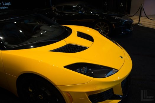 Lotus Evora at the 2018 Canadian International Auto Show in Toronto