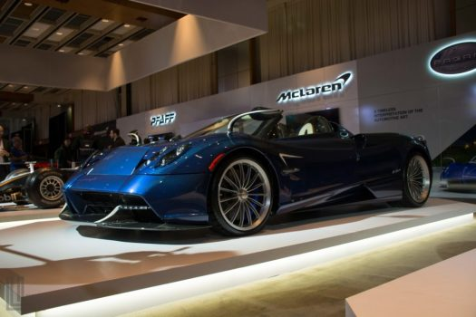Pagani Huayra Roadster at the 2018 Canadian International Auto Show in Toronto