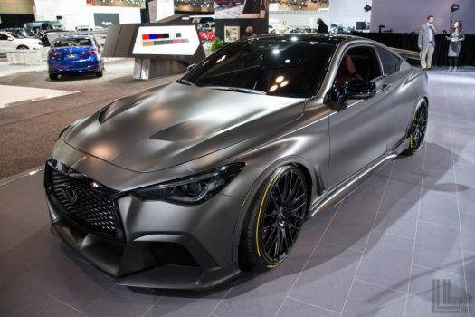 CIAS 2018 - Infiniti Project Black S Concept - based on the Q60 Coupe.