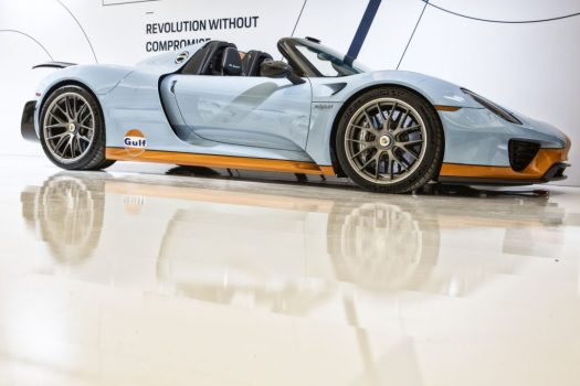 Toronto Auto Show CIAS 2018, 70 Years of Porsche - The Porsche 918 Spyder is one of the defining hypercars of its generation, along with the Ferrari LaFerrari and McLaren P1.