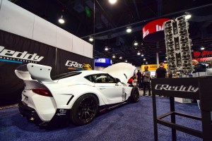 GReddy Toyota Supra at SEMA 2019