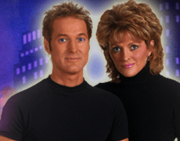Inside Magic Image of Kevin and Cindy Spencer from their Web Site spencersmagic.com
