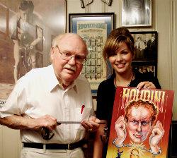 Inside Magic Image by MassLive.com of Sidney Radner and Elizabeth C. Dobrska in October 6, 2008
