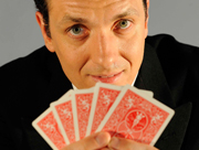 Inside Magic Image of Guy Holingworth from Expert at the Card Table