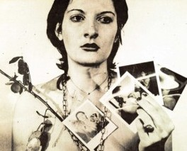 Inside Magic Image of Performance Artist Marina Abramovic Performing Rhythm, 0 (Circa 1974)