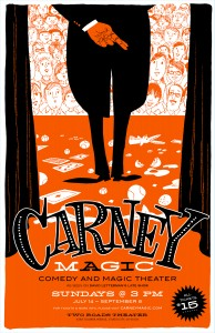 John Carney Magic Poster