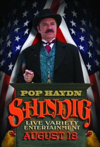Poster for Pop Haydn's Shindig August 18 2016