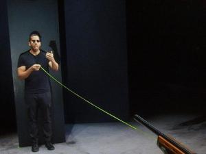 Image of David Blaine Shooting Himself