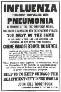Chicago Board of Health 1918