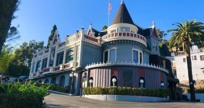 Exterior Image of the Magic Castle
