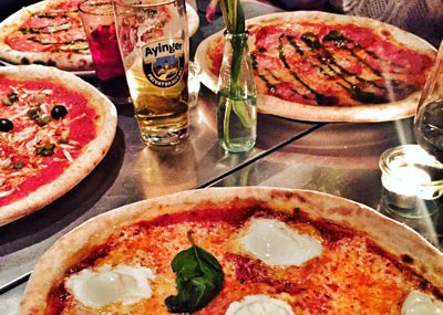 Pizza Italian Shot Restaurant Munich