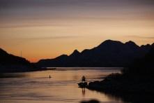 Sonnenuntergang im Raftsund, Copyright: insidenorway