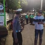 Dalam Sepekan Satlantas Polres Sumbawa Barat, Jaring Ratusan Pelanggar