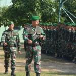 Korem 162/WB Latih Kesiapan Prajurit Menghadapi Bencana Alam