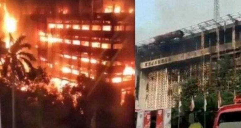 Polisi Tetapkan 8 Tersangka Terkait Kebakaran Gedung Kejaksaan Agung, 5 Diantarannya Kuli Bangunan
